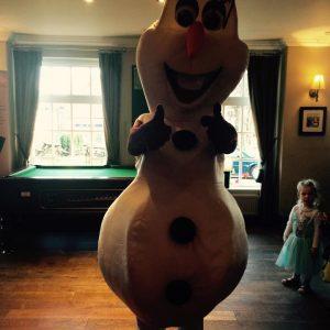 Olaf Character Mascot | Nottingham