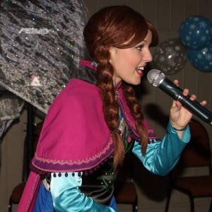 Princess Anna Character Hire Mansfield