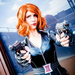 Jayne Darling as Black Widow - Avengers Parties Nottingham