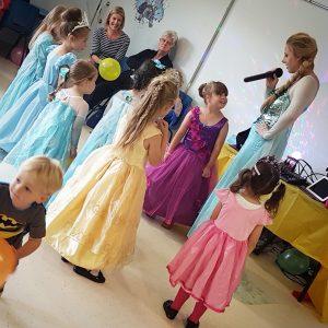 Queen Elsa Party Entertainer Nottingham
