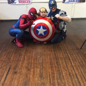 Spider Man | Captain America | Kids Parties