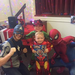 Spider Man | Captain America | Nottingham
