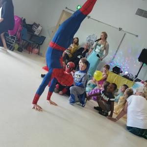 Spider Man Party Entertainer East Miidlands