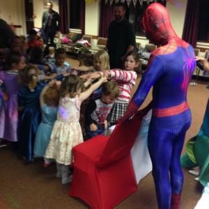 Spider Man Parties Mansfield