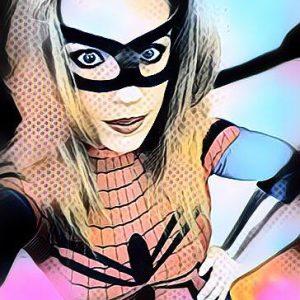 Shona as Spider Girl