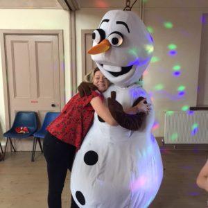 Olaf Mascot Nottingham | Mansfield
