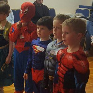 Children's Superhero Party Nottingham | Derby | Mansfield