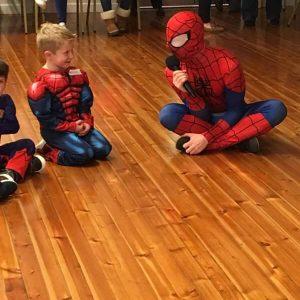 Spider Man for hire Nottingham | Derby | Mansfield