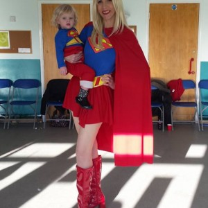Supergirl party Nottingham
