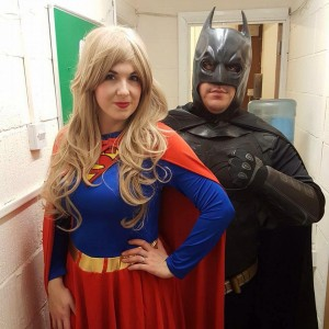Batman and Supergirl Parties