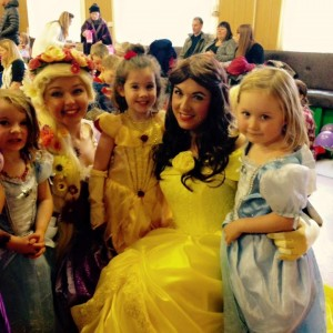 Belle Princess Party Nottingham Derby Leicester