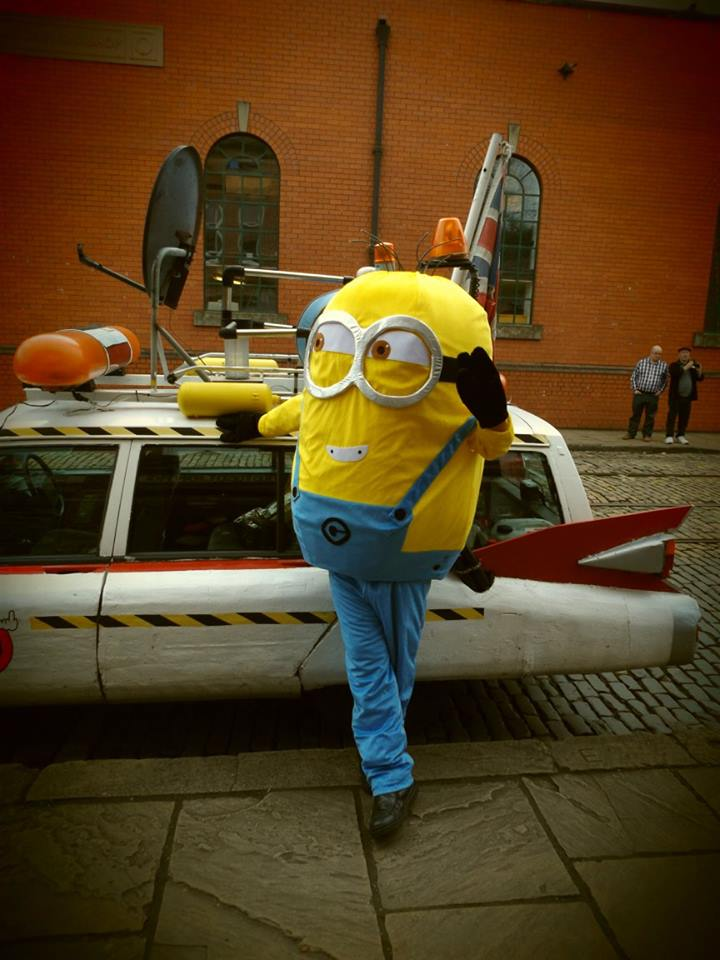 Minion Mascot for hire Nottingham