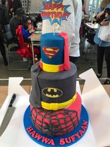 Superhero Birthday Cake - Absolutely Amazing Parties