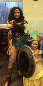 Wonder Woman party entertainer Nottingham