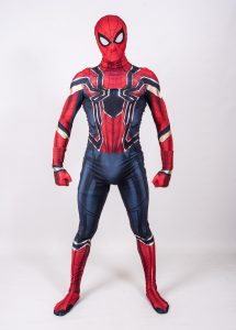 Iron Spider Man for hire Nottingham | Mansfield