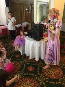 Rapunzel party Entertainer West Bridgford