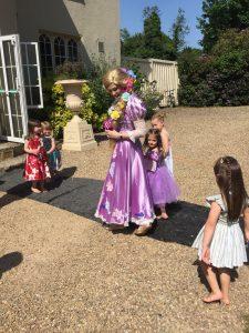 Rapunzel party Nottingham