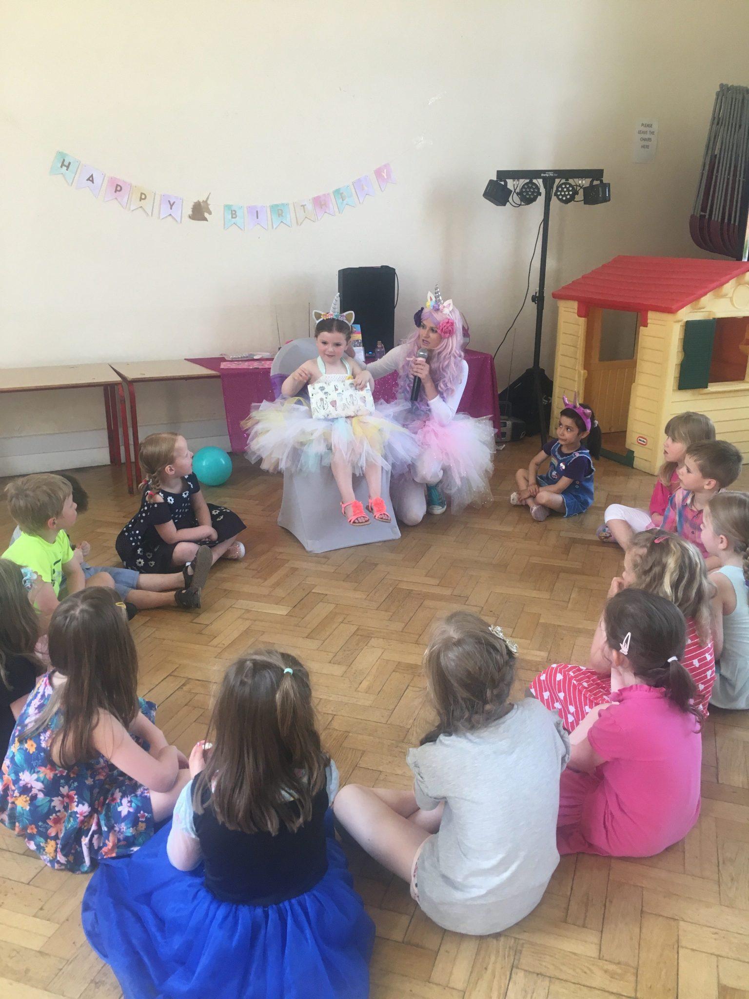 Unicorn Party Theme Nottingham