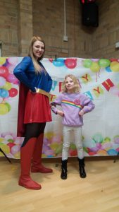 Super Girl Double Impersonator