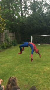 Spider Man for hire