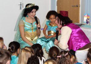 Jasmine and Aladdin Party Nottingham
