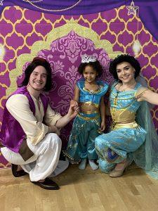 Jasmine and Aladdin for hire