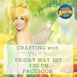 Crafting with Tinker Bell on Facebook
