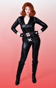 Black Widow party entertainer