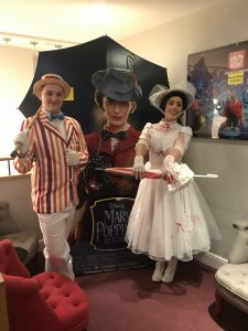 Mary Poppins and Bert to hire