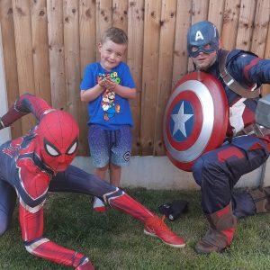 Superhero Visits East Midlands