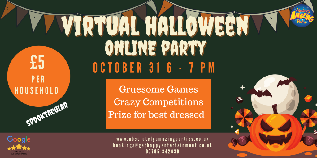 Virtual Online Halloween Party