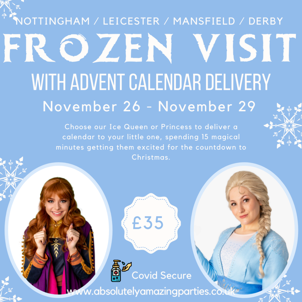 Frozen Advent Calendar Delivery