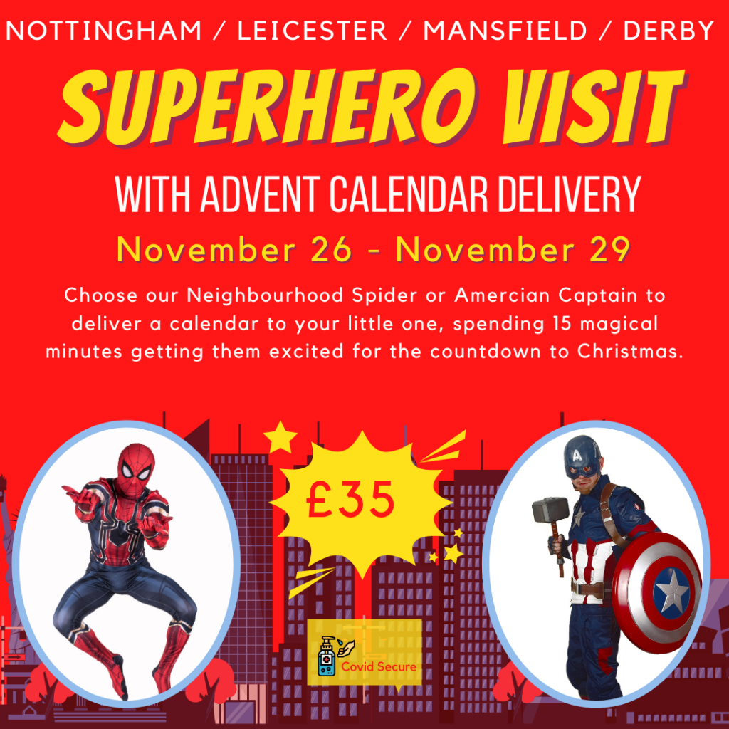 Superhero Advent Calendar Delivery