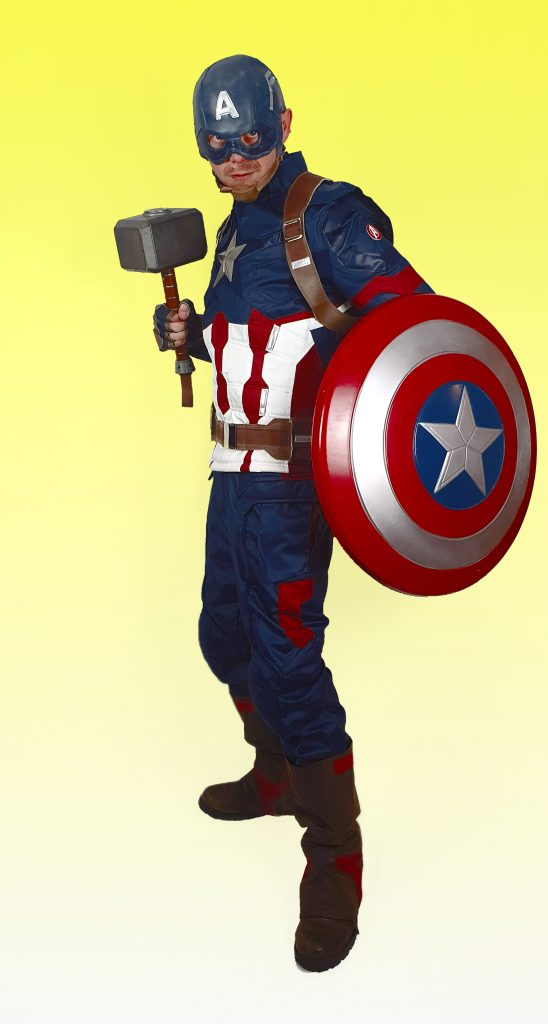 Captain America Character HIre
