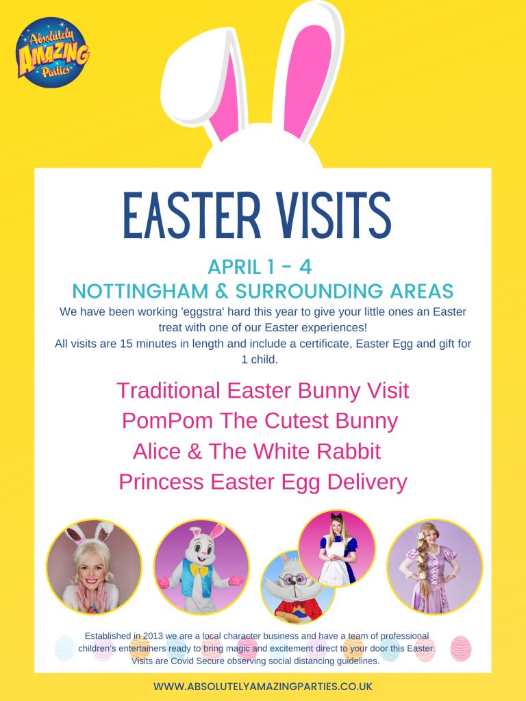 Easter Bunny Visits Nottinghgam