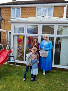 Princess Doorstep Visits