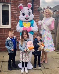 Easter Bunny Visits Nottingham