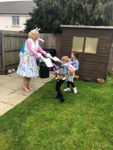 Easter Bunny Visits Mansfield