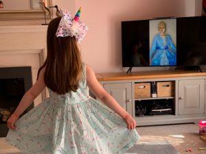 Elsa character video