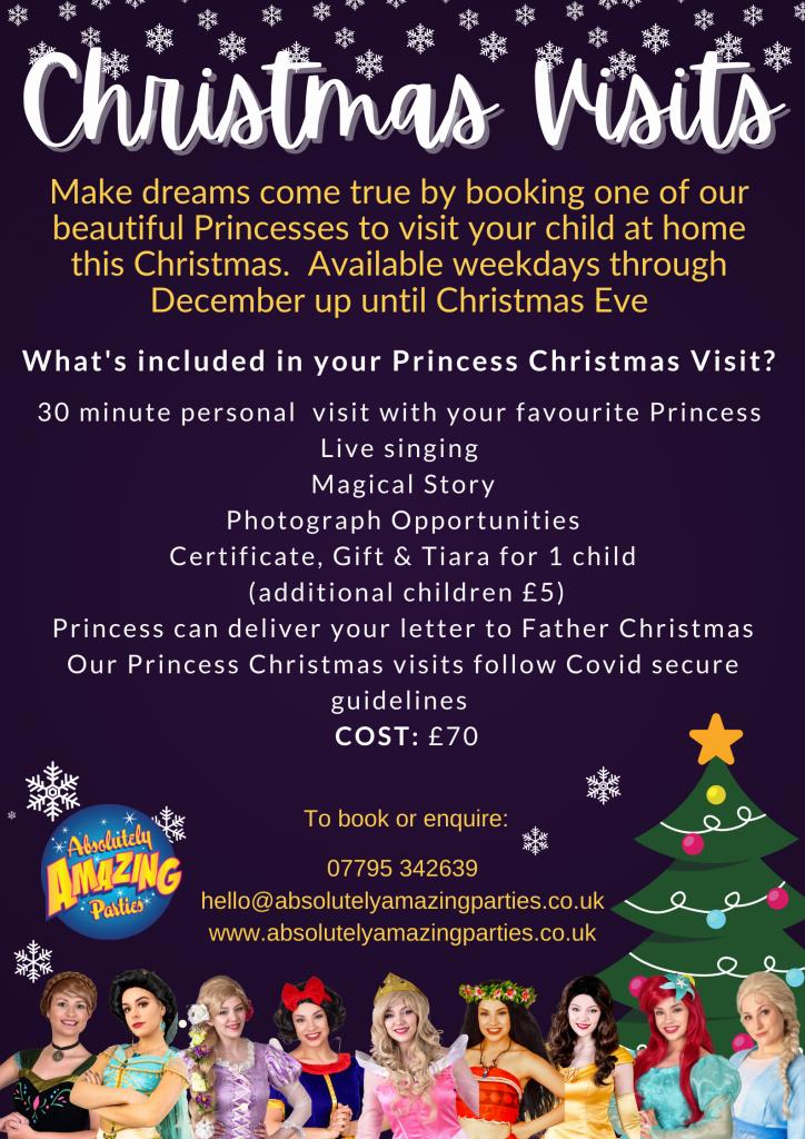 Christmas Princess Visits