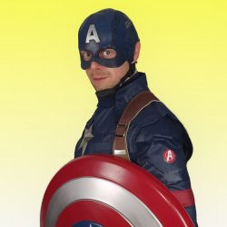 Captain America for Hire